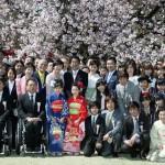 「桜を見る会」に出席しました。